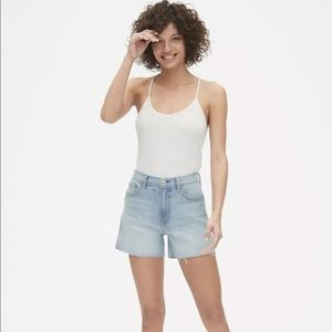 GAP 1969 Jean Shorts Cut-Offs Light Wash